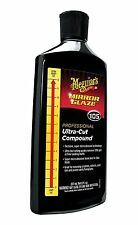 MEGUIARS M105 MIRROR GLAZE® ULTRA-CUT COMPOUND 8oz