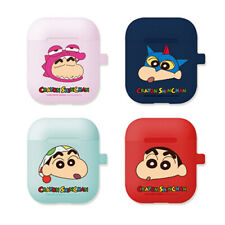 Genuine Crayon Shin-Chan AirPods Jelly Case 1st 2nd Generation made in Korea