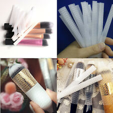 Makeup Cosmetic Beauty Brush Pen Guards Sheath Mesh Net Protector Cover 20Pcs