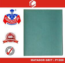 Matador Waterproof Sander Paper Grit : P1200