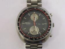 Vintage Seiko Chronograph Watch 6138-0011 UFO w/ Band