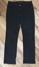 Lee Perfect Fit 1889 Black Women's Jeans Stretch Size 10 M