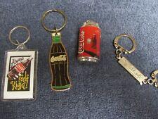 Coca Cola Key Chain Lot of 4 * Coke