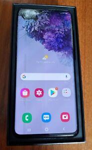 Samsung Galaxy S20 plus 5G SM-G986B/DS 128GB dual sim cloud Black Cracked screen