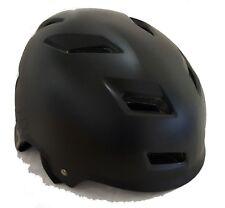 Fox Transition Cycling Helmet - 52-54cm - Matt Black - Old Stock, Blemished