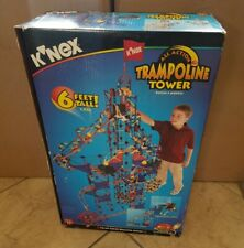 K'Nex Trampoline Tower Construction Kit Toy Working Electric Motor Action