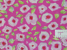 16,73€/m² => 25cmx110cm:Tiddlywinks - Pink Rosen, Free Spirit Patchworkstoff