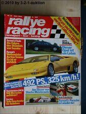 Rallye Racing Dez. 90 Opel Lotus Omega Diablo BMW Z1