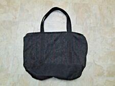 The J. Peterman Company Grey Wool Tote Bag