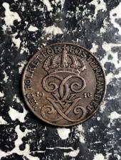 1916 Sweden 1 Ore Lot#L8716