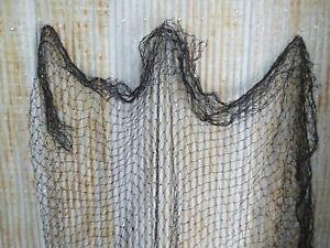16 feet x 47 feet AUTHENTIC USED ALASKAN SEINE FISHING FISH NET NETTING (FN-886)