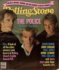 1984 Rolling Stone March 1- Sting & The Police; Steve Jobs;Clash;Jerry Lee Lewis
