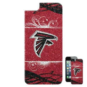 NFL ATLANTA FALCONS MOBILE PHONE BLING GALAXY S4 APPLIQUE BAI5NF08 - NFL