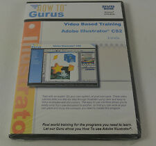How to Gurus Adobe Illustrator CS2 2 DVD ROM Windows Training Software New