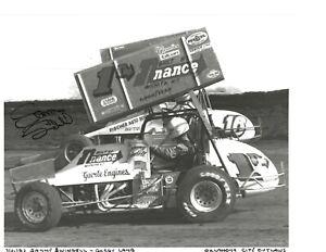 Autographed Sammy Swindell  Outlaws Sprint Car Racing Photograph