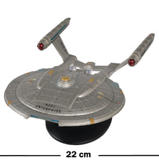 Enterprise NX-01 - Star Trek - Eaglemoss XXXL Metall Raumschiff Modell - 23 cm