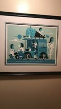 mumford and sons poster Invisible Creature Framed