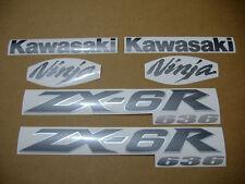 ZX6R 636 2004 ninja complete decals stickers graphics set kit adhesives adhesivi