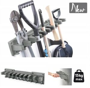 Stabiler Werkzeughalter Multi-Holder Gerätehalter für Garten, 31cm - 60cm Breite