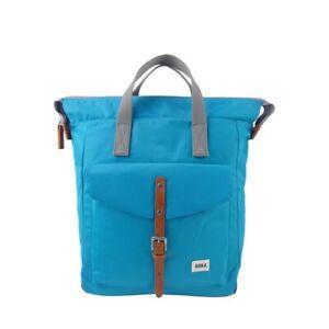 Roka Bantry C Medium Weather Resistant Backpack Bag Turquoise