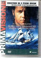 54002 DVD - Master and Comander; Sfida ai confini del mare (sigillato)