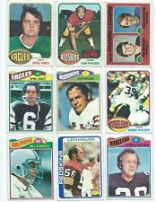 27 Different Georgia Bulldogs Vintage Alumni Football Cards; 1976-1988