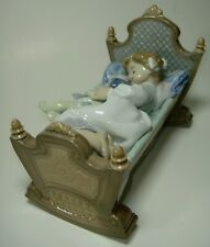 Lladro 5717 Rock A Bye Baby - Perfect Condition