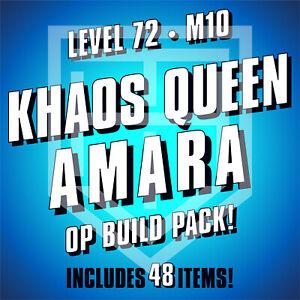 Borderlands 3 [KHAOS QUEEN AMARA] Build Pack [LEVEL 72 • M10] BL3 [ANY PLATFORM]