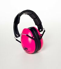EMS 4 Kids Earmuffs Noise Reduction Hearing Protection Soundproof Headphone Pink