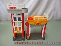 Imaginext Fire Station Play Fun Toy Action Pretend Tower Protect Emergency Red