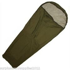 BRITISH ARMY ISSUED BIVI BAG GORETEX OLIVE GREEN BIVVY CAMPING CADET