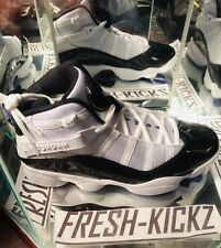 Rare Nike Air Jordan 6 Rings Concord XI Patent Leather 96 Iverson Hoyas SZ 10