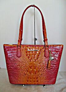 Brahmin Handbag - Medium Asher - Passion Fruit Melbourne