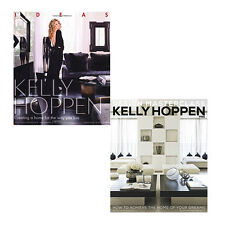 Kelly Hoppen 2 Books Collection Set Pack (Ideas, Design Masterclass) New