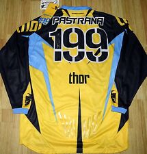 TRAVIS PASTRANA 2X Signed #199 Jersey Autographed Front & Back JSA COA  X Games