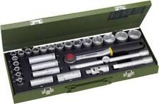 """Proxxon Industrial Steckschlüsselsatz metrisch 1/2"""" (12.5 mm) 29teilig 23000"""