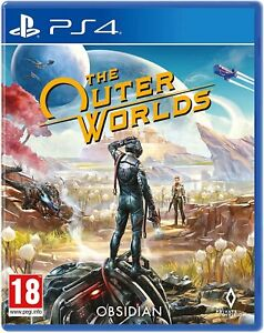 The Outer Worlds PS4 NEW DISPATCHING TODAY ORDERS PLACED BY 2 P.M