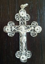 Orthodox Priest Pectoral Cross Sterling Silver 925 FREE SHIPPING