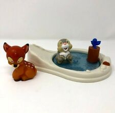 Fisher Price Little People Bambi and Thumper Disney Ice Pond Playset