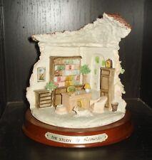 Vintage Lesser & Pavey House Figurine Beautiful The Study Design By Leonardo