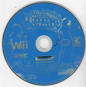 Wii Dance Dance Revolution Hottest Party DISC ONLY