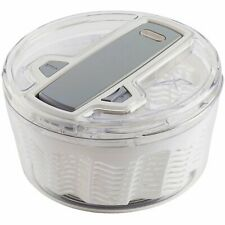 """Zyliss"""" Swift Dry Salad Spinner, White, Small"""