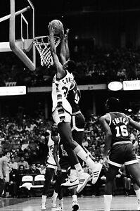 LD125-9 1984 DePaul UAB Blazers College Basketball (92pc)ORIG 35mm B&W NEGATIVES