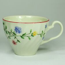 """Johnson Bros """"SUMMER CHINTZ"""" Flat Tea Cup - Made in England Stamp"""