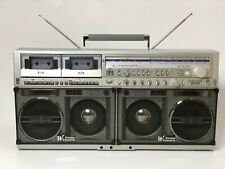⭐SHARP GF-777 Z⭐BEST PRICE BIG OLD VINTGE Stereo Boombox PERFECT Condition+VIDEO