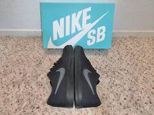 NIKE SB CHECK SOLAR Canvas Black/Anthracite 843896-002 Mens Shoes Size 8.5