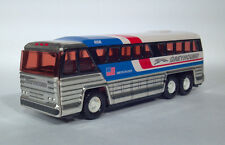 DC 1979 Buddy L Macau Steel Greyhound 4950 500Q Americruiser Bus MCI MC-8 Coach