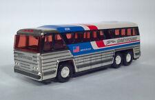 1979 Buddy L Macau Steel Greyhound 4950 500Q Americruiser Bus MCI MC-8 Coach
