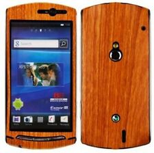 Skinomi Light Wood Phone Skin+Screen Protector for Sony Ericsson Xperia Neo V