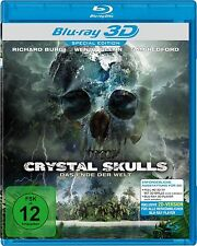 CRYSTAL SKULLS 3D blu ray ( Includes 2D ) ( NEW )